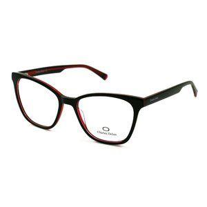Charles Delon Cat Eye Style Red/Black Frame